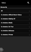 Screenshot of DJ Antoine