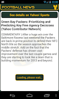 Screenshot of Green Bay Football News