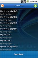 Screenshot of Truyện ma