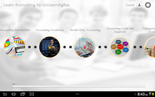 Screenshot of Learn Accounting
