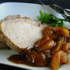Pork Braised In Riesling With Apricots