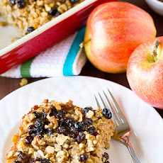 Apple Cinnamon-Raisin & Walnut Baked Oatmeal