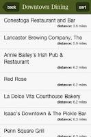 Screenshot of Lancaster County Guide