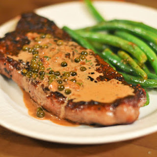 Green Peppercorn Pan Sauce