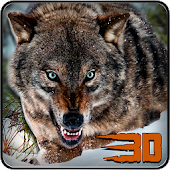 Game Wild Wolf Attack Simulator 3D apk for kindle fire