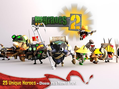 Bug Heroes 2 apk screenshot