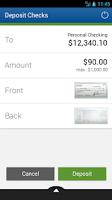 Screenshot of NetBank USA Mobile App