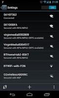 Screenshot of Wi-Fi Shortcut