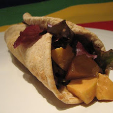 Pb & Fruit Pita Pockets
