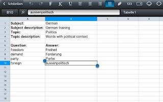 Screenshot of Vocix - FlashCards