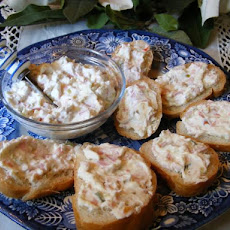 T.d. F.  Hot Bread Dip