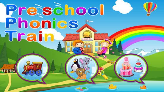Preschool Phonics Train Free - screenshot