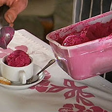 Double Beetroot Ripple Ice Cream