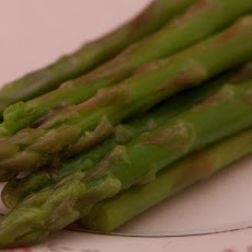 Steamed Asparagus With Lemon