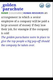 Longman Business Dictionary - screenshot
