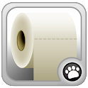 Tirar el Rollo de Papel icon