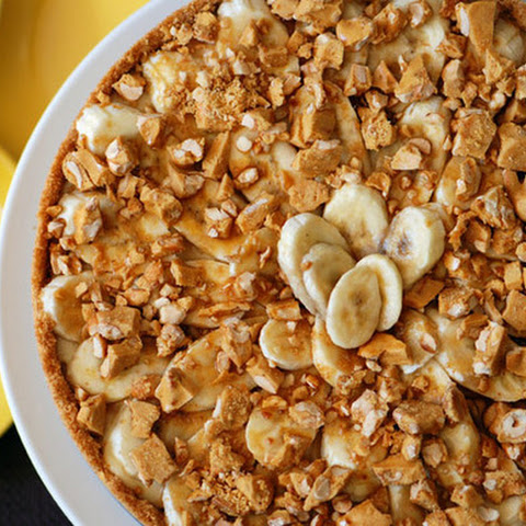 Bourbon and Brittle Banana Cream Pie