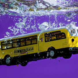 The Yellow Bus by Imanuel Hendi Hendom - Artistic Objects Toys