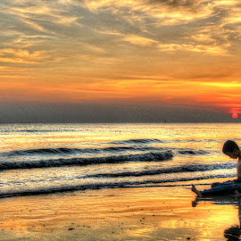 sunset by Siti Hana Iryani - Babies & Children Children Candids