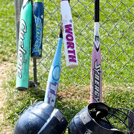 Bats, Helmets, and Soft Ball by Ernie Easter - Sports & Fitness Baseball