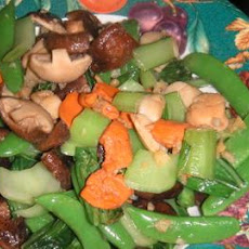 Scallop and Shiitake Stir-Fry