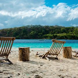 by Abdulgani Atsigah - Landscapes Beaches ( gili nanggu, indonesia, asia, lombok, sea trek, ombak putih )