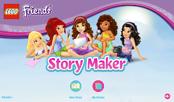 Screenshot of LEGO® Friends Story Maker
