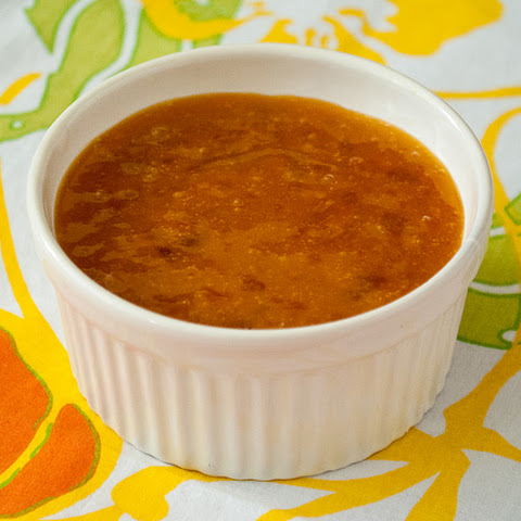 Apricot Sauce and Pineapple-Orange Sauce