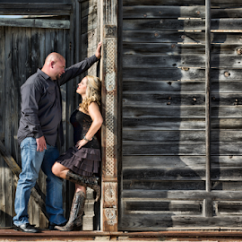 Rockin' Love by Shawnessy Ransom - People Couples ( love, hangin out, texas, newlywed, country love, marriage, couples )