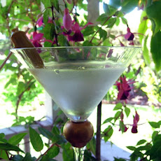 Potsie's White Trash Dirty Martini