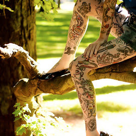 by Mike Payne - People Body Art/Tattoos