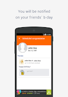 Screenshot of BSF: Birthday Scheduler for Fb