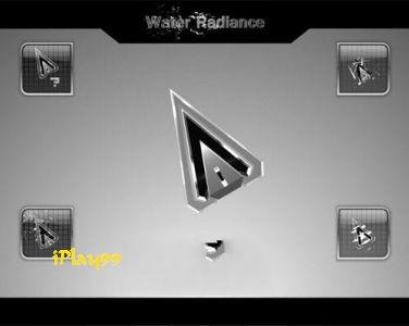 動態滑鼠游標,Water Radiance