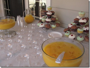 Mimosas and Cupcakes