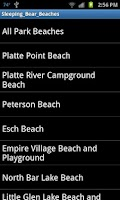 Screenshot of Sleeping Bear Beaches