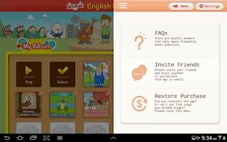 Screenshot of English Songs for Kids
