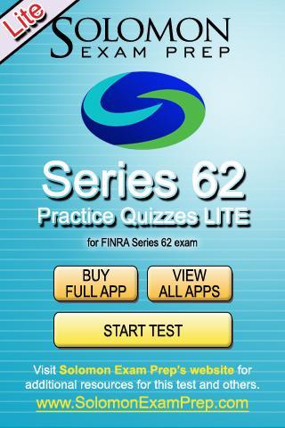 Series 62 Practice Exams Lite
