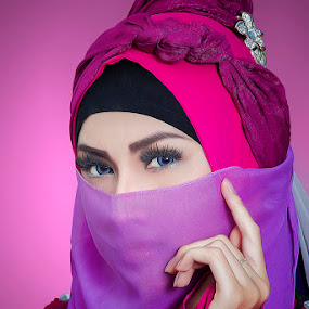 HIJABERS by Dimas Winarto - People Portraits of Women ( potrait, woman, beauty, hijab )