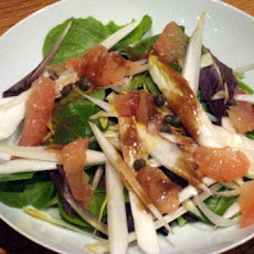 Chicory Salad with Oranges and Red Onions