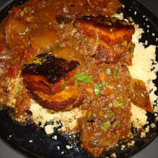 Moroccan Spiced Stewed Pork Belly in a Slow Cooker