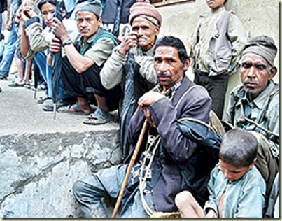 famine nepal