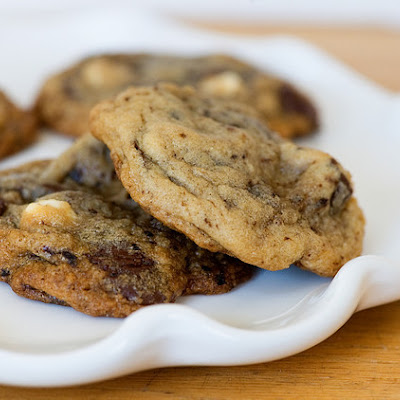 Mocha Chocolate Chip Cookies and a Cookbook Contest!