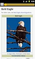 Screenshot of Bird Guide pro