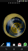 Screenshot of Ball 3D Inter Milan LWP