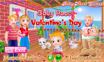 Screenshot of Baby Hazel Valentine Day
