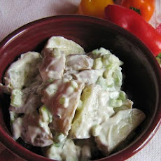 Yogurt and Sour Cream Potato Salad