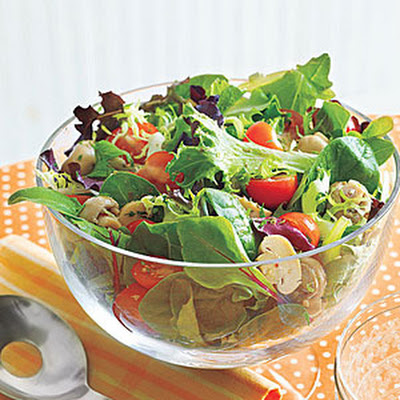 Tossed Salad with Mushrooms