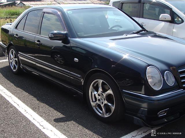 メルセデスベンツ E320 97y 茨城県 会員様 洗車達人PRO実践報告