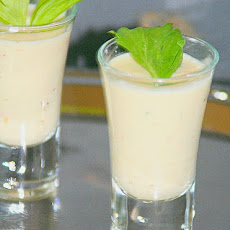 Savory Shrimp Soup Shooters