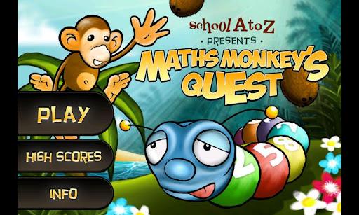 Maths Monkey's Quest